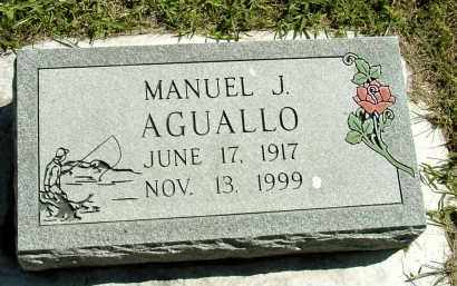 AGUALLO, MANUEL J. - Box Butte County, Nebraska | MANUEL J. AGUALLO - Nebraska Gravestone Photos