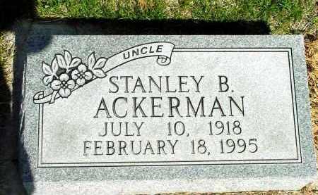 AKERMAN, STANLEY B. - Box Butte County, Nebraska | STANLEY B. AKERMAN - Nebraska Gravestone Photos