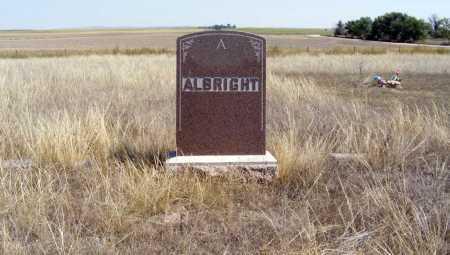 ALBRIGHT, FAMILY - Box Butte County, Nebraska | FAMILY ALBRIGHT - Nebraska Gravestone Photos