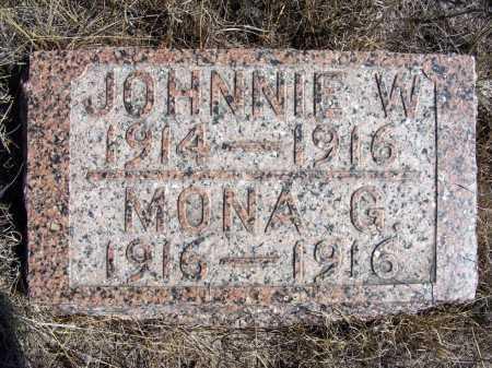 ALBRIGHT, MONA G. - Box Butte County, Nebraska | MONA G. ALBRIGHT - Nebraska Gravestone Photos