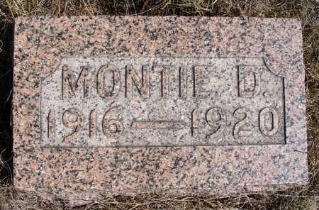 ALBRIGHT, MONTIE D. - Box Butte County, Nebraska | MONTIE D. ALBRIGHT - Nebraska Gravestone Photos