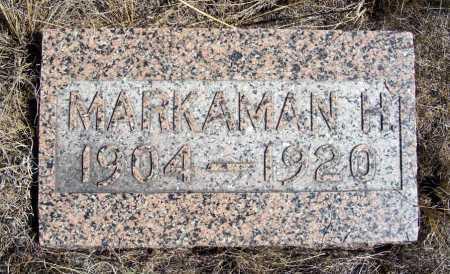 ALBRIGHT, MARKAMAN H. - Box Butte County, Nebraska | MARKAMAN H. ALBRIGHT - Nebraska Gravestone Photos