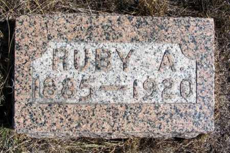 ALBRIGHT, RUBY A. - Box Butte County, Nebraska   RUBY A. ALBRIGHT - Nebraska Gravestone Photos