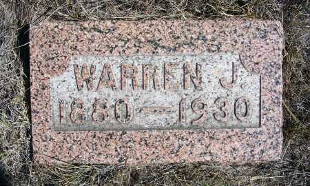 ALBRIGHT, WARREN J. - Box Butte County, Nebraska | WARREN J. ALBRIGHT - Nebraska Gravestone Photos