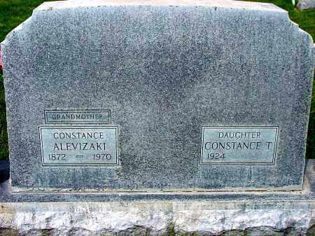 ALEVIZAKI, CONSTANCE - Box Butte County, Nebraska   CONSTANCE ALEVIZAKI - Nebraska Gravestone Photos