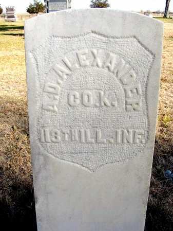 ALEXANDER, ALANSON D. - Box Butte County, Nebraska   ALANSON D. ALEXANDER - Nebraska Gravestone Photos