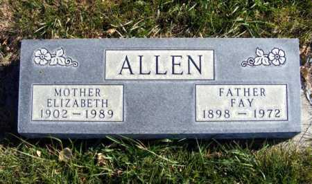 ALLEN, FAY - Box Butte County, Nebraska | FAY ALLEN - Nebraska Gravestone Photos