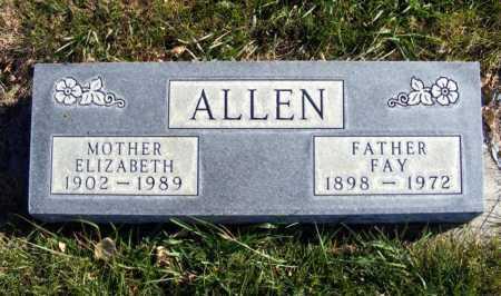 ALLEN, ELIZABETH - Box Butte County, Nebraska | ELIZABETH ALLEN - Nebraska Gravestone Photos
