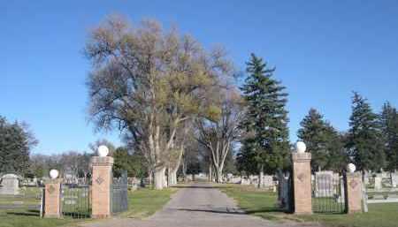 *ALLIANCE CITY CEMETERY, ENTRANCE TO - Box Butte County, Nebraska | ENTRANCE TO *ALLIANCE CITY CEMETERY - Nebraska Gravestone Photos