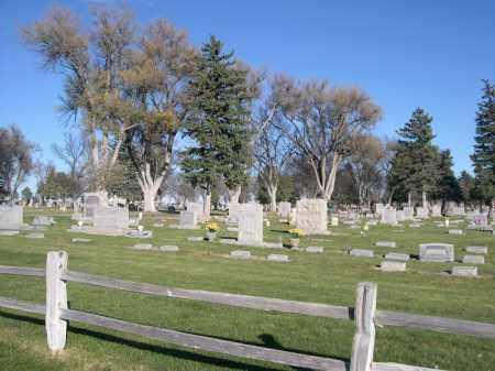 *ALLIANCE CITY CEMETERY, VIEW OF - Box Butte County, Nebraska | VIEW OF *ALLIANCE CITY CEMETERY - Nebraska Gravestone Photos