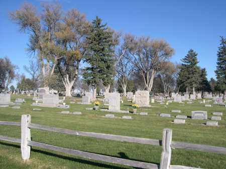 *ALLIANCE CITY CEMETERY, VIEW OF - Box Butte County, Nebraska | VIEW OF *ALLIANCE CITY CEMETERY - Nebraska Gravestone Photos