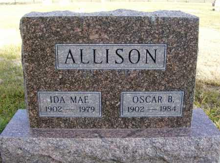 ALLISON, OSCAR B. - Box Butte County, Nebraska | OSCAR B. ALLISON - Nebraska Gravestone Photos