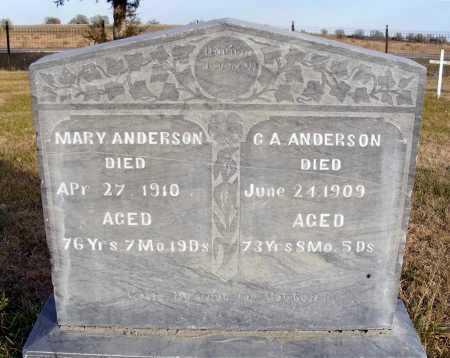 ANDERSON, C. A. - Box Butte County, Nebraska | C. A. ANDERSON - Nebraska Gravestone Photos