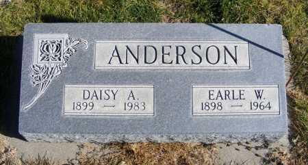 ANDERSON, DAISY A. - Box Butte County, Nebraska | DAISY A. ANDERSON - Nebraska Gravestone Photos