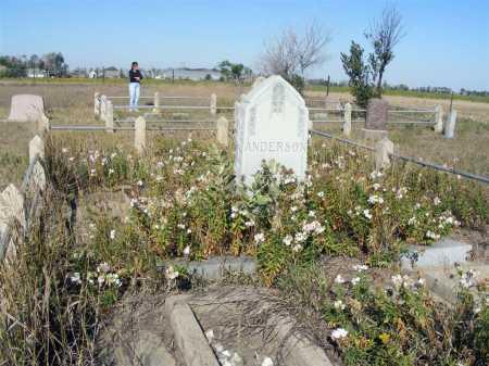 ANDERSON, FAMILY - Box Butte County, Nebraska | FAMILY ANDERSON - Nebraska Gravestone Photos