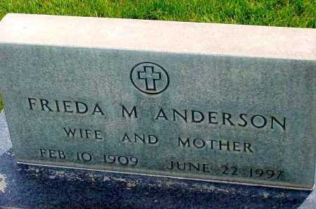 ANDERSON, FRIEDA M. - Box Butte County, Nebraska | FRIEDA M. ANDERSON - Nebraska Gravestone Photos
