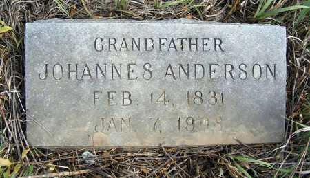 ANDERSON, JOHANNES - Box Butte County, Nebraska | JOHANNES ANDERSON - Nebraska Gravestone Photos