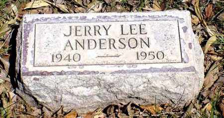 ANDERSON, JERRY LEE - Box Butte County, Nebraska | JERRY LEE ANDERSON - Nebraska Gravestone Photos