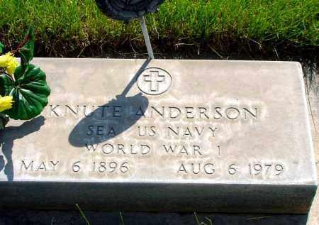 ANDERSON, KNUTE - Box Butte County, Nebraska   KNUTE ANDERSON - Nebraska Gravestone Photos