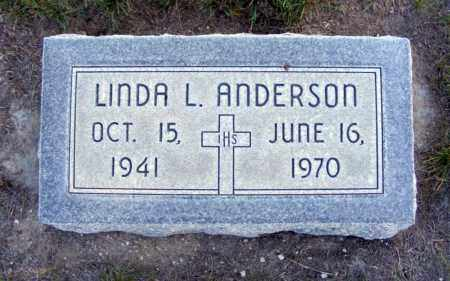 ANDERSON, LINDA L. - Box Butte County, Nebraska | LINDA L. ANDERSON - Nebraska Gravestone Photos