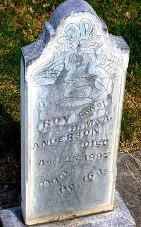 ANDERSON, ROY - Box Butte County, Nebraska   ROY ANDERSON - Nebraska Gravestone Photos