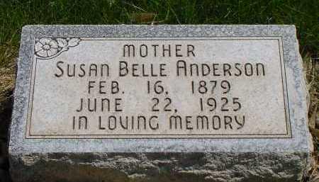 ANDERSON, SUSAN BELLE - Box Butte County, Nebraska   SUSAN BELLE ANDERSON - Nebraska Gravestone Photos