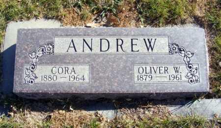 ANDREW, OLIVER W. - Box Butte County, Nebraska | OLIVER W. ANDREW - Nebraska Gravestone Photos
