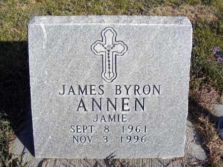 "ANNEN, JAMES BYRON ""JAMIE"" - Box Butte County, Nebraska | JAMES BYRON ""JAMIE"" ANNEN - Nebraska Gravestone Photos"