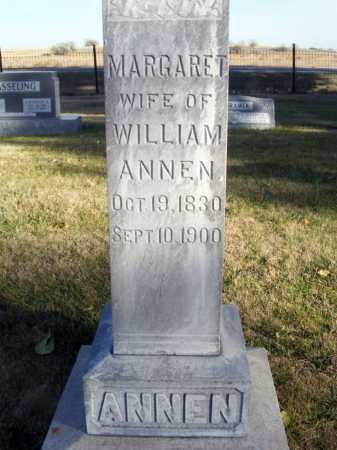 ANNEN, MARGARET - Box Butte County, Nebraska | MARGARET ANNEN - Nebraska Gravestone Photos