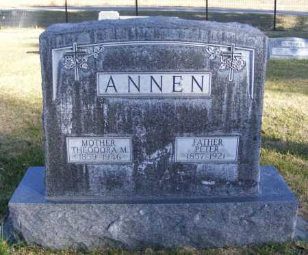 FENDRICH ANNEN, THEODORA M. - Box Butte County, Nebraska | THEODORA M. FENDRICH ANNEN - Nebraska Gravestone Photos