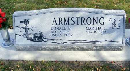 ARMSTRONG, DONALD B. - Box Butte County, Nebraska | DONALD B. ARMSTRONG - Nebraska Gravestone Photos