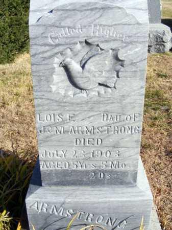 ARMSTRONG, LOIS E. - Box Butte County, Nebraska   LOIS E. ARMSTRONG - Nebraska Gravestone Photos