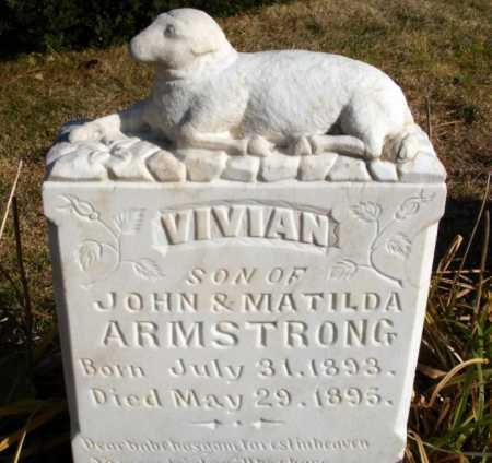 ARMSTRONG, VIVIAN - Box Butte County, Nebraska | VIVIAN ARMSTRONG - Nebraska Gravestone Photos