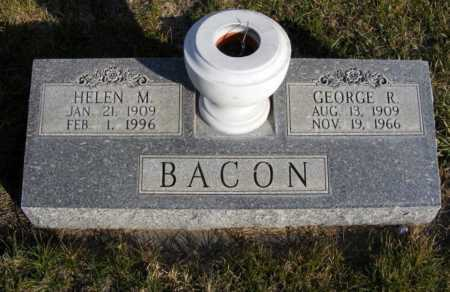 SCHNEIDER BACON, HELEN M. - Box Butte County, Nebraska | HELEN M. SCHNEIDER BACON - Nebraska Gravestone Photos