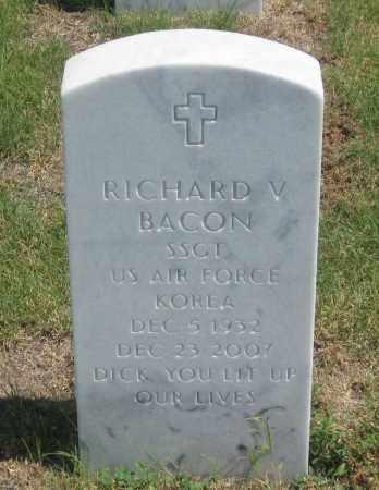 BACON, RICHARD  VERNON - Box Butte County, Nebraska | RICHARD  VERNON BACON - Nebraska Gravestone Photos