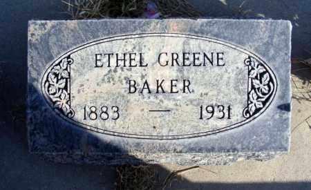 BAKER, ETHEL - Box Butte County, Nebraska   ETHEL BAKER - Nebraska Gravestone Photos