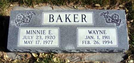 BAKER, WAYNE - Box Butte County, Nebraska | WAYNE BAKER - Nebraska Gravestone Photos