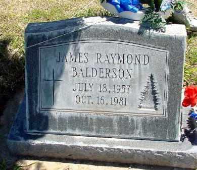 BALDERSON, JAMES RAYMOND - Box Butte County, Nebraska | JAMES RAYMOND BALDERSON - Nebraska Gravestone Photos