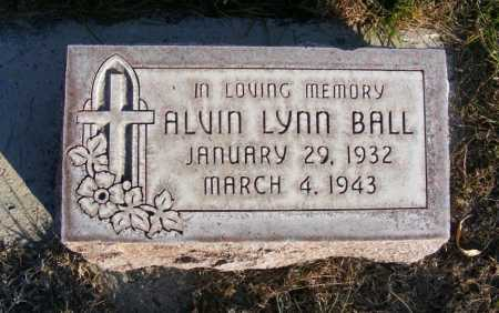 BALL, ALVIN LYNN - Box Butte County, Nebraska | ALVIN LYNN BALL - Nebraska Gravestone Photos