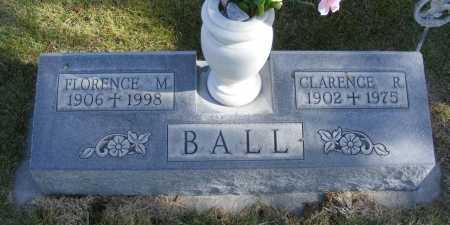 BALL, FLORENCE M. - Box Butte County, Nebraska | FLORENCE M. BALL - Nebraska Gravestone Photos