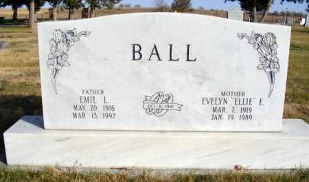 BALL, EMIL L. - Box Butte County, Nebraska | EMIL L. BALL - Nebraska Gravestone Photos