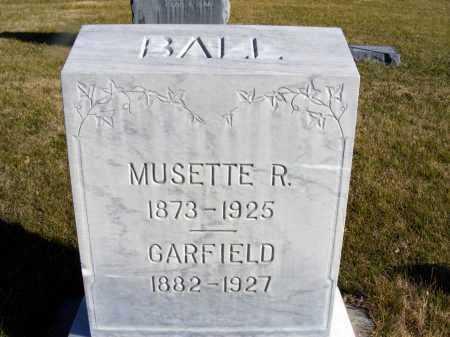 BALL, MUSETTE R. - Box Butte County, Nebraska | MUSETTE R. BALL - Nebraska Gravestone Photos