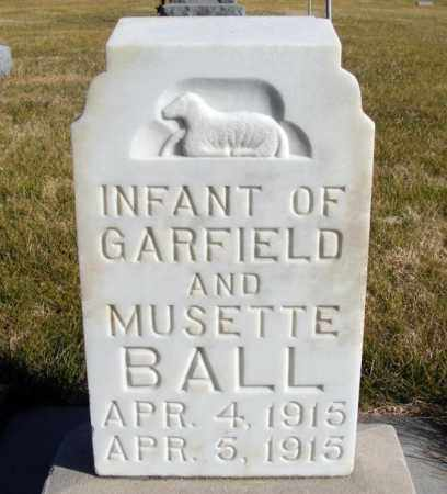 BALL, INFANT - Box Butte County, Nebraska   INFANT BALL - Nebraska Gravestone Photos