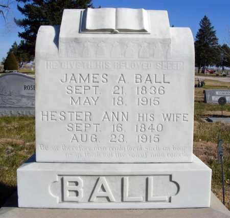 BALL, JAMES A. - Box Butte County, Nebraska | JAMES A. BALL - Nebraska Gravestone Photos