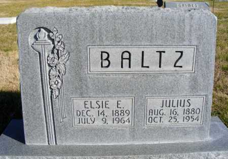 BALTZ, ELSIE E. - Box Butte County, Nebraska | ELSIE E. BALTZ - Nebraska Gravestone Photos