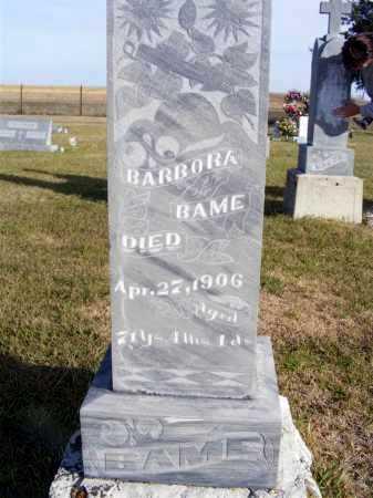 BAME, BARBORA - Box Butte County, Nebraska | BARBORA BAME - Nebraska Gravestone Photos