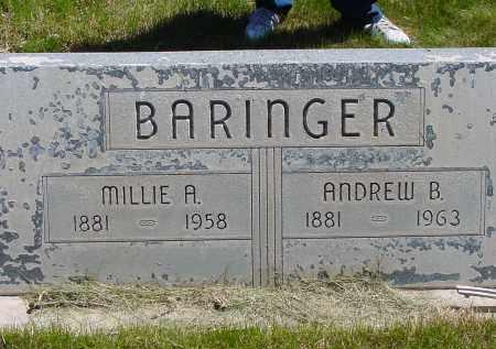 BARINGER, ANDREW B. - Box Butte County, Nebraska | ANDREW B. BARINGER - Nebraska Gravestone Photos