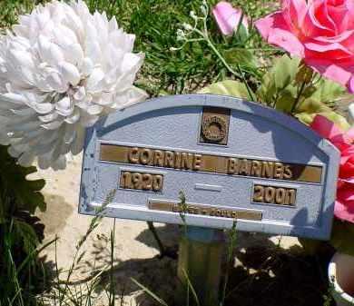 BARNES, CORRINE - Box Butte County, Nebraska | CORRINE BARNES - Nebraska Gravestone Photos