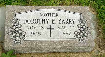 BARRY, DOROTHY E. - Box Butte County, Nebraska | DOROTHY E. BARRY - Nebraska Gravestone Photos