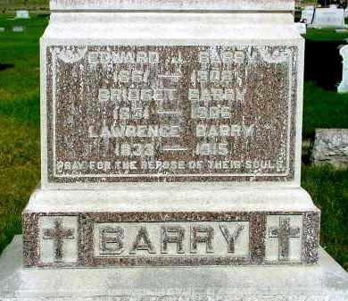 BARRY, EDWARD J. - Box Butte County, Nebraska   EDWARD J. BARRY - Nebraska Gravestone Photos